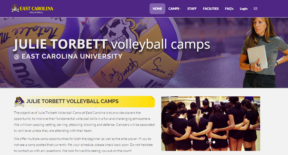 Volleyball Site